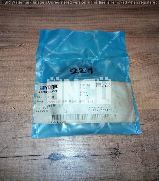 1991.206 COMPRESSION RING BFO 3-4 [SEGMAN]