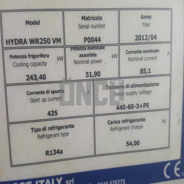 FROST CHİLLER ÜNİTESİ (BİZTER KOMPRESÖR) HYDRA WR250 VM